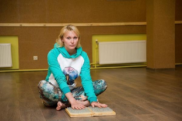 Fitness, girl, yoga, cosmosbalsam