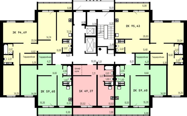 Пзсп запустил новую серию многоэтажных домов - с новыми план.