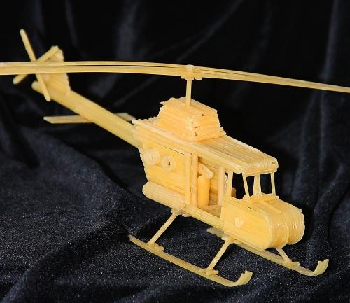 Россиянин получил патент на изготовление сувениров из макарон.