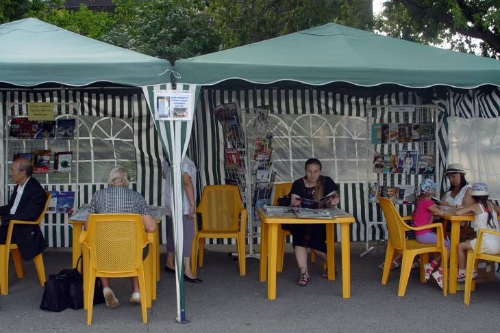 Горьковская библиотека открывает летний читальный зал