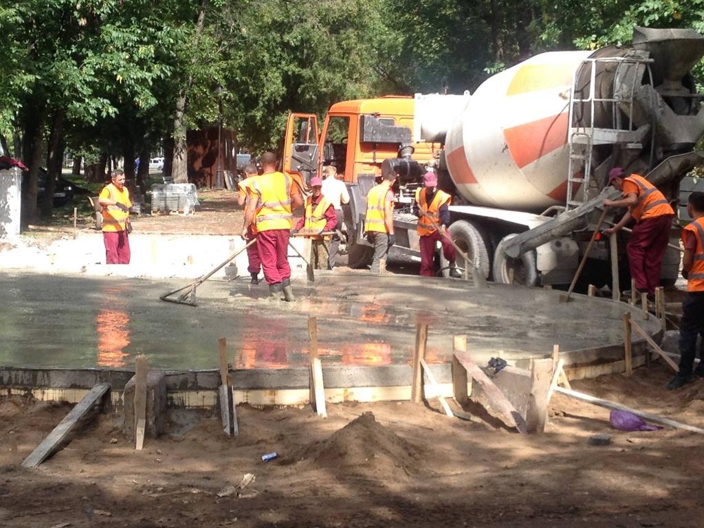 На «тихом Компросе» вПерми заработал отремонтированный фонтан