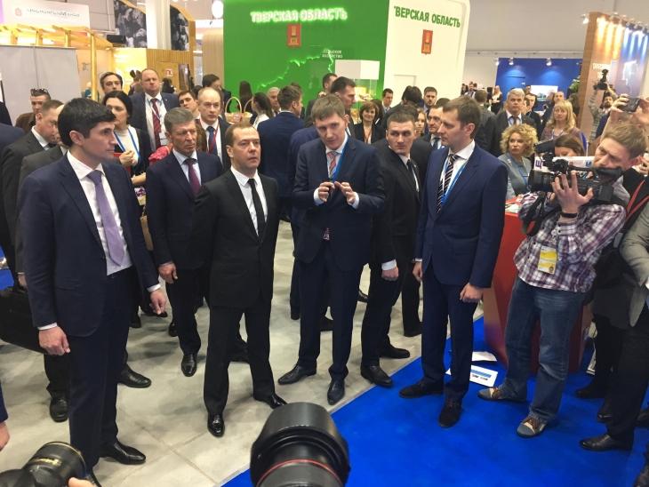 МРСК Урала и руководство Прикамья презентовали общий стенд на пленуме вСочи