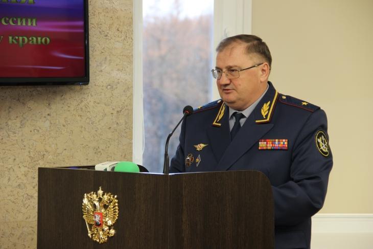 ВГУФСИН Российской Федерации поПермскому краю представлен новый глава
