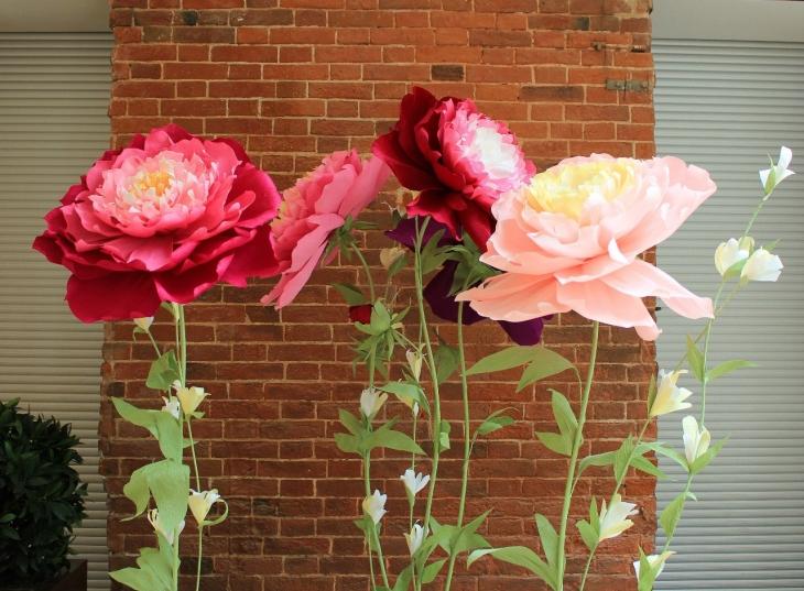 Как сделать красивый бумажный цветок 8